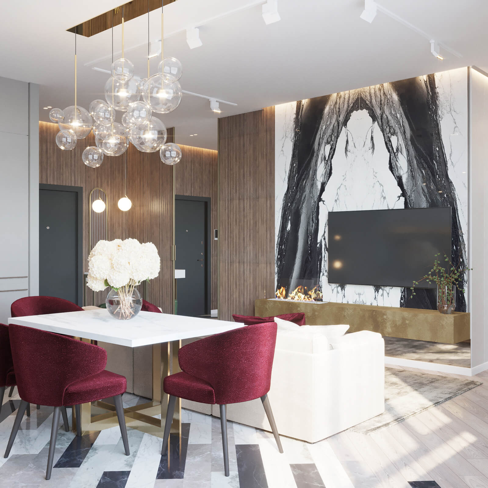 Минимализм и искусство в дизайне квартиры