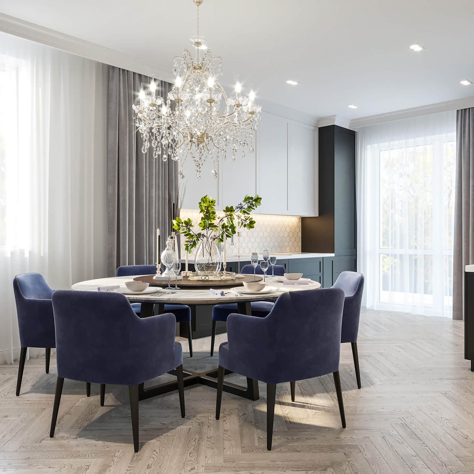 Два поколения в дизайне квартиры